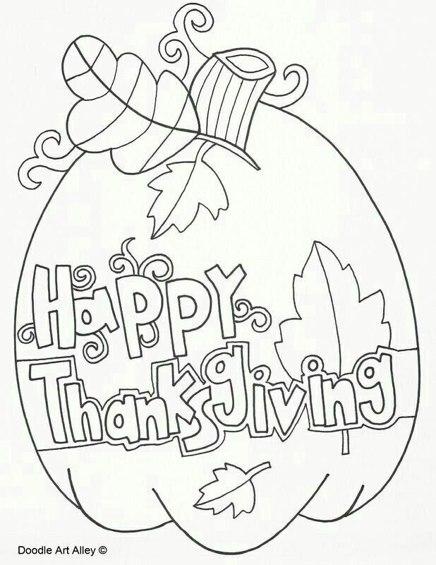 Many free thanksgiving coloring sheets