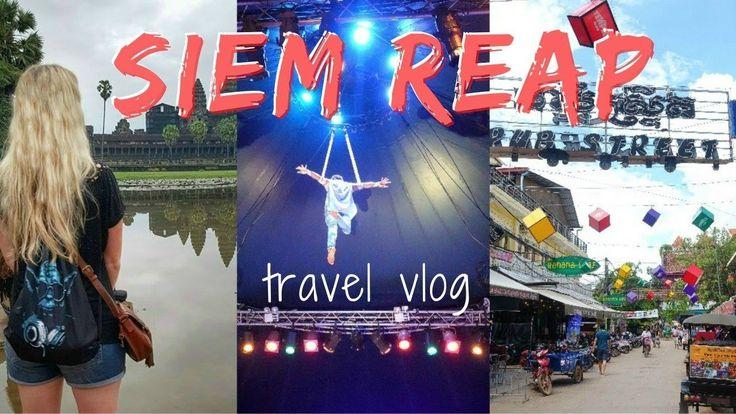 SIEM REAP Travel Vlog | Angkor Wat Sunrise & Phare Cambodian Circus