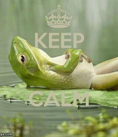 KEEP .........CALM.............