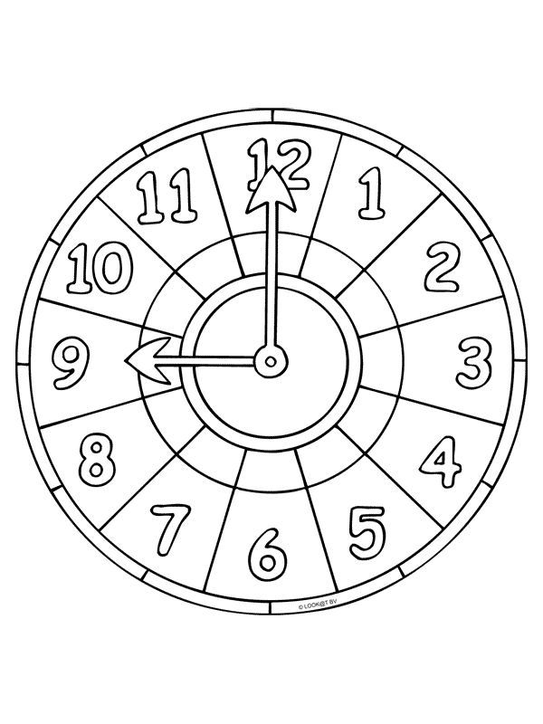 Uhr Malvorlagen Zum Ausdrucken   Aglhk