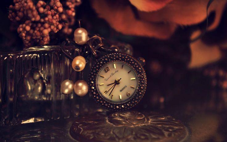 relógio, pérolas, quartzo
