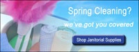 It's Spring Cleaning Time! Shop Janitorial Supplies