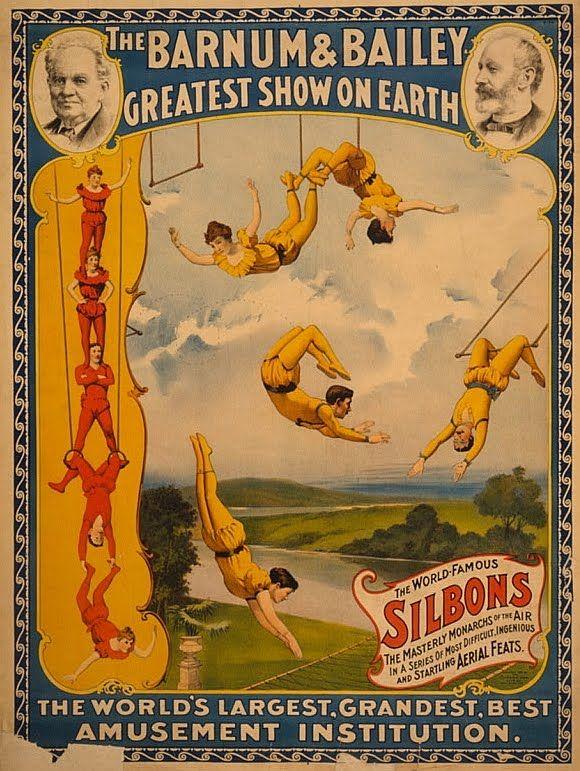 The Barnum & Bailey Greatest Show On Earth Poser - Circus