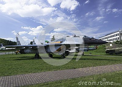 Historic aircraft used in army