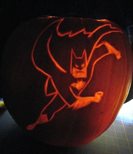 Batman diy pumpkin carving for halloween 20 diy pumpkins carving and decor ideas for halloween - Breathtaking halloween decoration using batman pumpkin carving ...