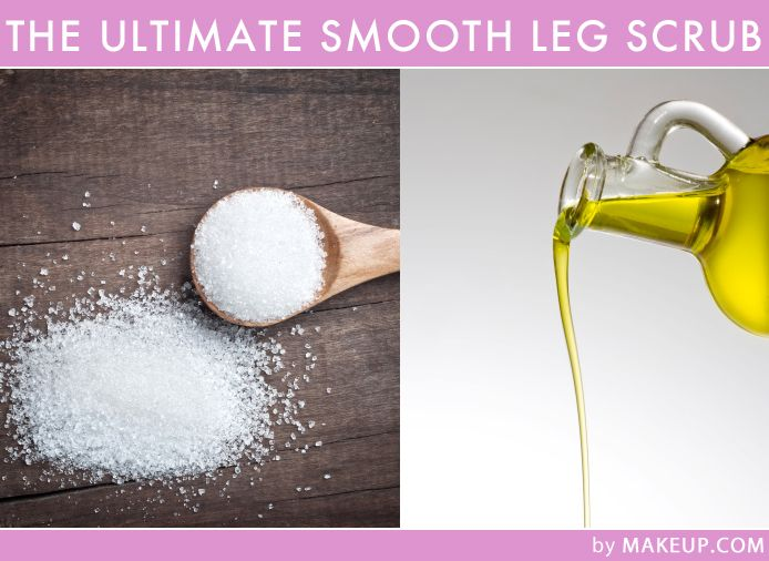 On a tight budget? Here's a great DIY exfoliator to make those legs extra smooth.