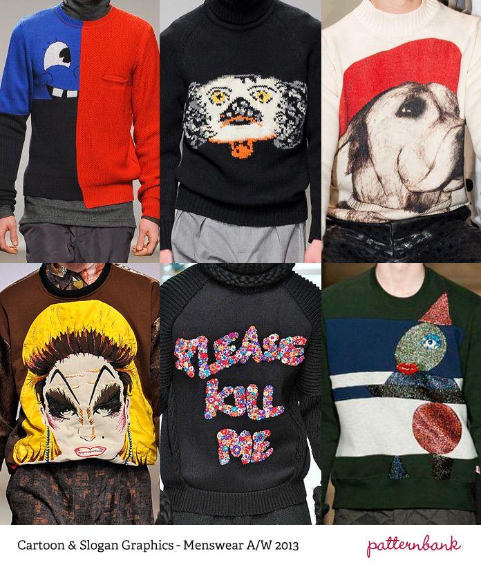 Menswear Print Trends – Autumn/Winter 2013 Part 1 catwalks