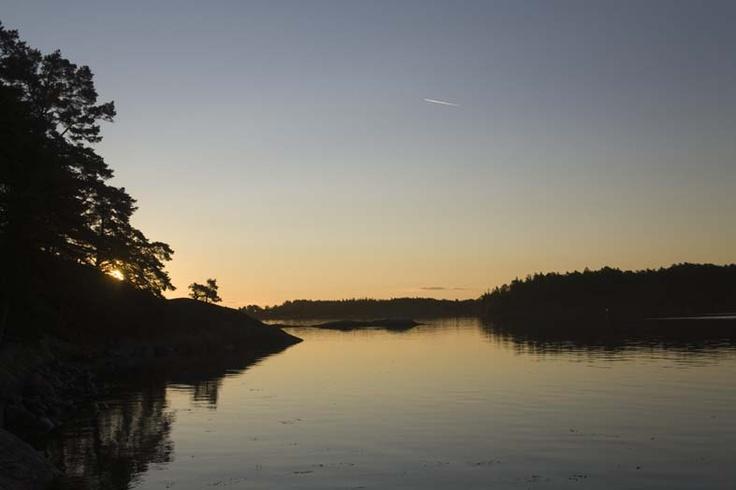 Sunrise Stockholm Archipelago