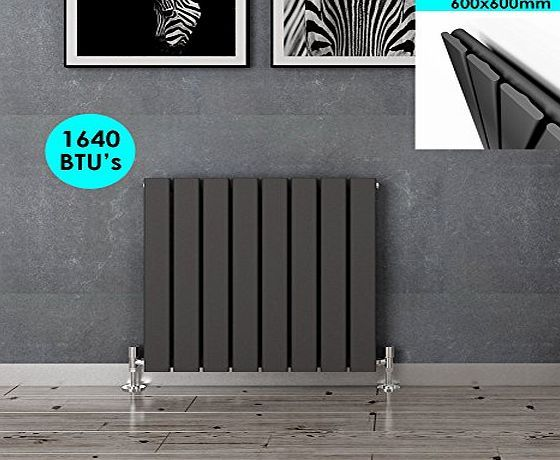 sunny showers 600x600mm Anthracite Horizontal Column Designer Radiator Single Flat Panel Radiator Heater No description (Barcode EAN = 5699823964245). http://www.comparestoreprices.co.uk/december-2016-week-1/sunny-showers-600x600mm-anthracite-horizontal-column-designer-radiator-single-flat-panel-radiator-heater.asp