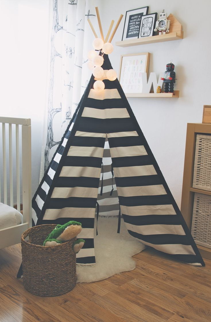 Deconiños: los tipis de To The Wild | Ministry of Deco