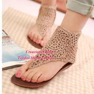 Zapatos Tejidos 100% A Mano! Para Todas Las Edades°!!!!!!!!! (Para ...