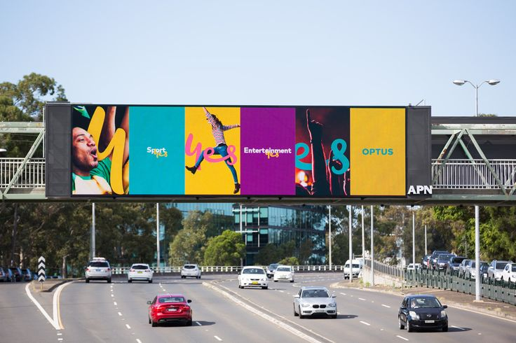 OPTUS - Billboards