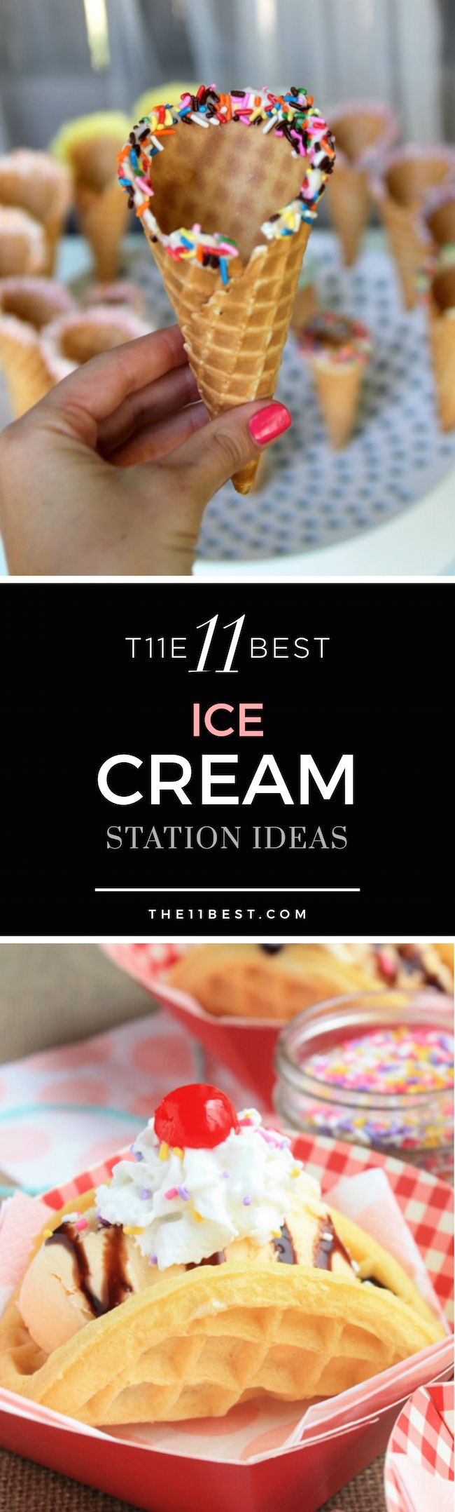 The 11 Best Ice Cream Station Ideas