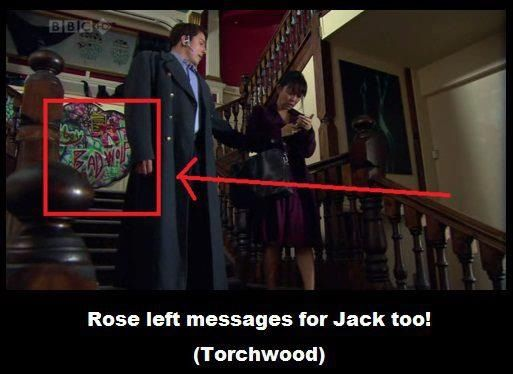 This is a great Torchwood ep anyway, and now I want to rewatch it to spot this graffiti.
