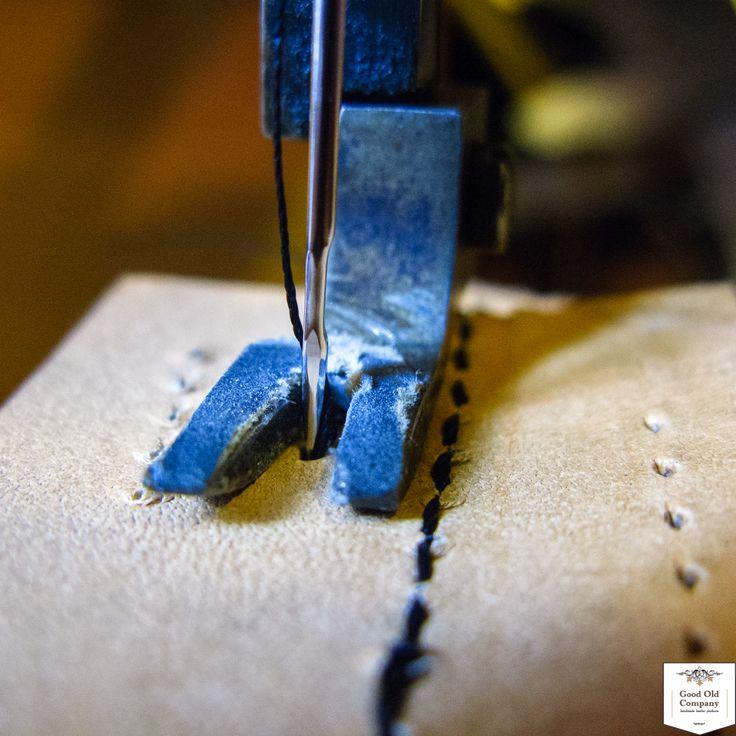 stitching on sewing machine