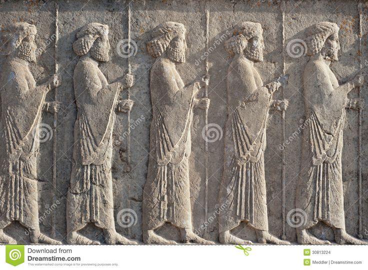 persian-relief PERSEPOLIS