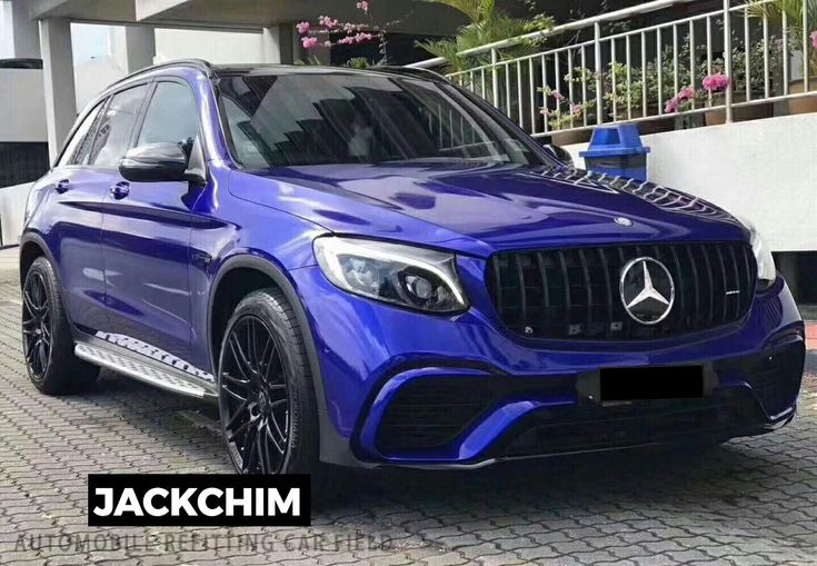 Benz Glc Change To Glc63 Amg Bodykit 1 1 Pp Material