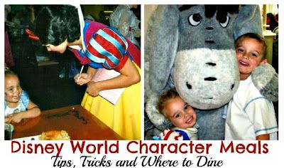 Walt Disney World Character Meals