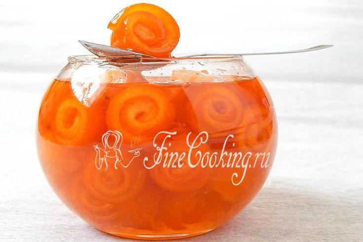 Варенье из апельсиновых корок - рецепт с фото