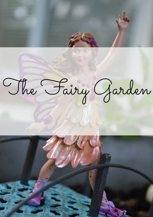 The #Fairy #Garden -- a simple, inexpensive project to start, but provides hours of fun for the kids!