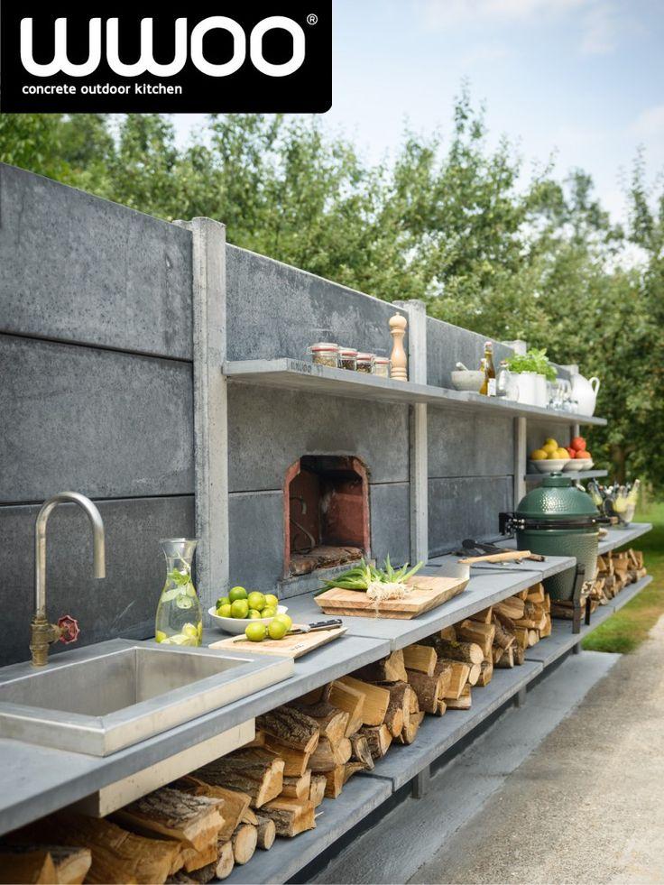 17 beste idee n over buitenkeuken terras op pinterest achtertuin keuken buitenkeukens en - Ideeen buitentuin ...