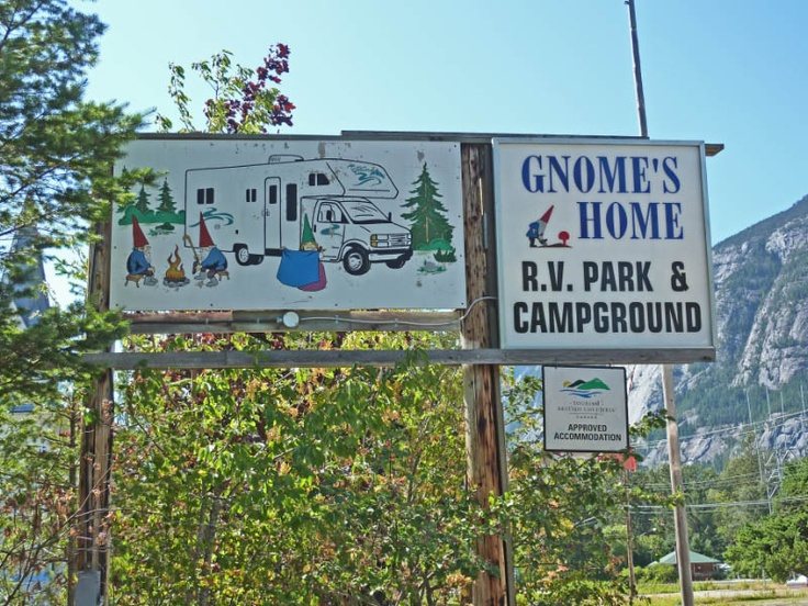 Gnomes Home RV Park And Campground Bella Coola British Columbia