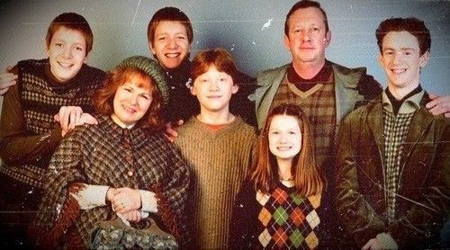 Weasley ( sans Bill et Charlie)