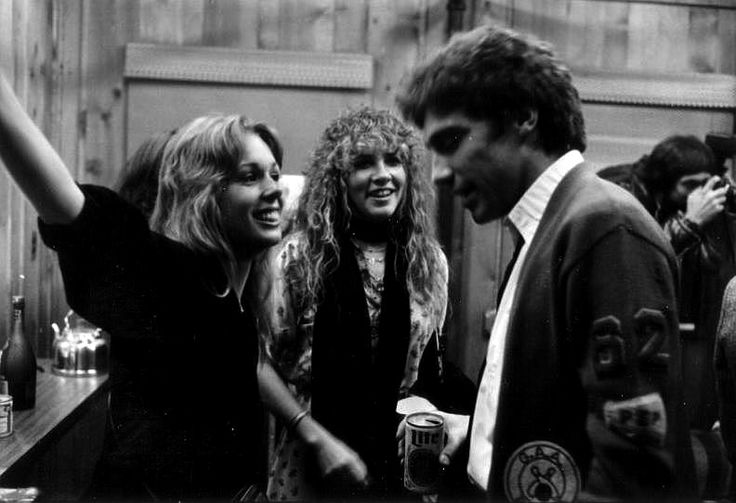 Stevie Nicks with friend, Mary Torrey and Tom Moncrieff