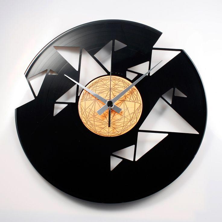 Disc'O'Clock Ceas de perete Origami