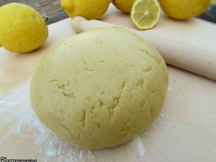 Pasta frolla al limone senza burro