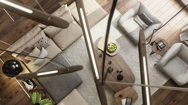 different angle   ::::   design: Mario Stoica   #Poliform  #Foscarini