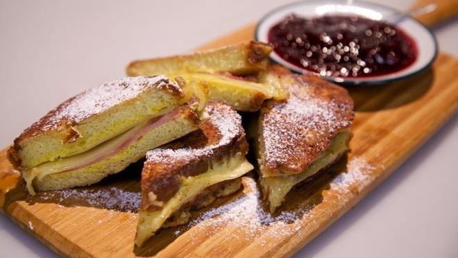 Monte Cristo sandwich - Rudolph's Bakery   24Kitchen