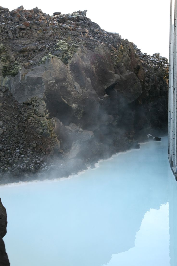 Blue  Lagoon, Reykjavik. The warm waters are rich in minerals like silica and sulfur and bathing in the Blue Lagoon is reputed to help some people suffering from skin diseases such as psoriasis. I´ll recommend.