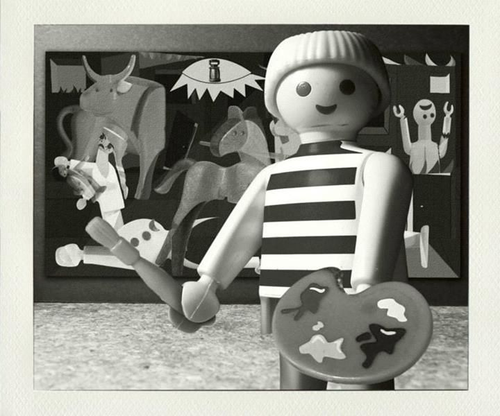 Playmobil by Richard Unglik / Picasso