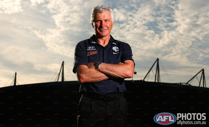 The Mick Malthouse era at Carlton begins in 2013