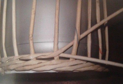 Opletek dvěmi ruličkami :: Pletení z papíru Hanča Čápule