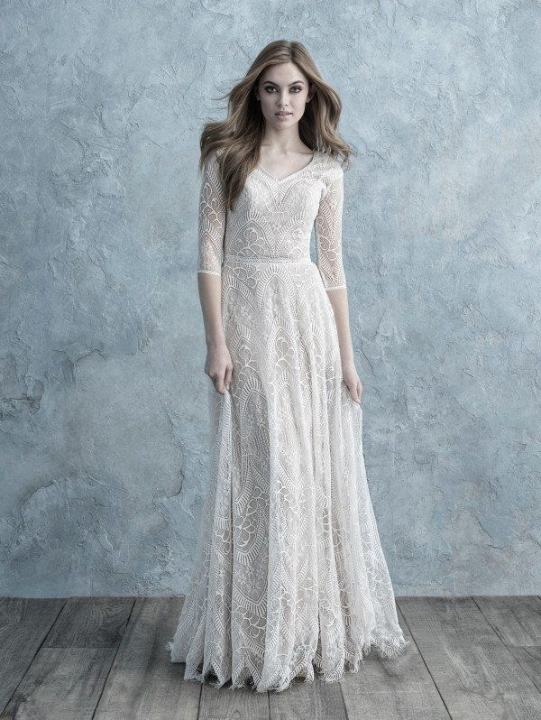 Allure Bridals M624   – Modest Wedding Dress Ideas…