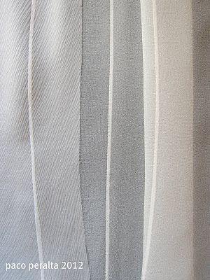 BCN - UNIQUE designer patterns: Tejidos transparentes (Tutorial costura).  How to hem transparent fabrics.