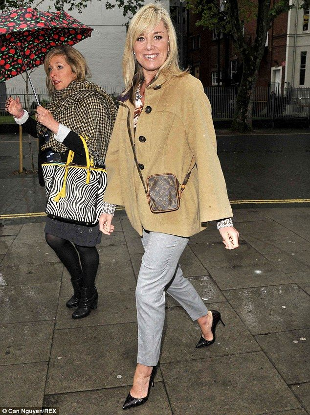 Yikes, she's hot! Tamzin Outhwaite looked great as she was spotted out in London on Thursd...