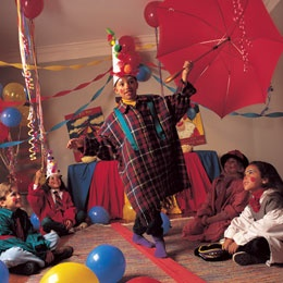 Clown School Party idea for 7 year olds! So cute!!