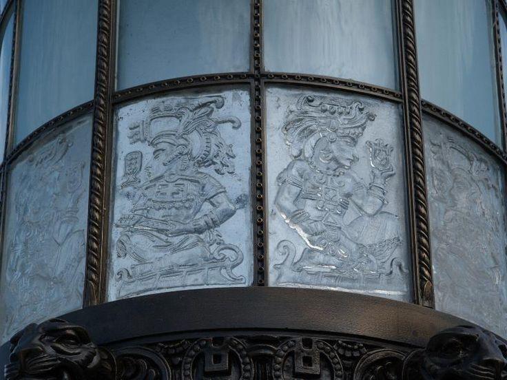 Description: Washington, DC: Organization of American States (17th Street NW): lantern detail