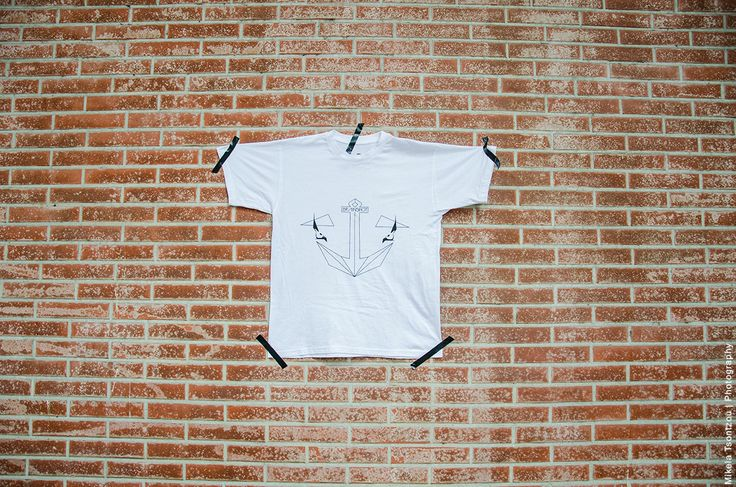 ANCOR // T-SHIRT // WHITE S - M - L UNISEX