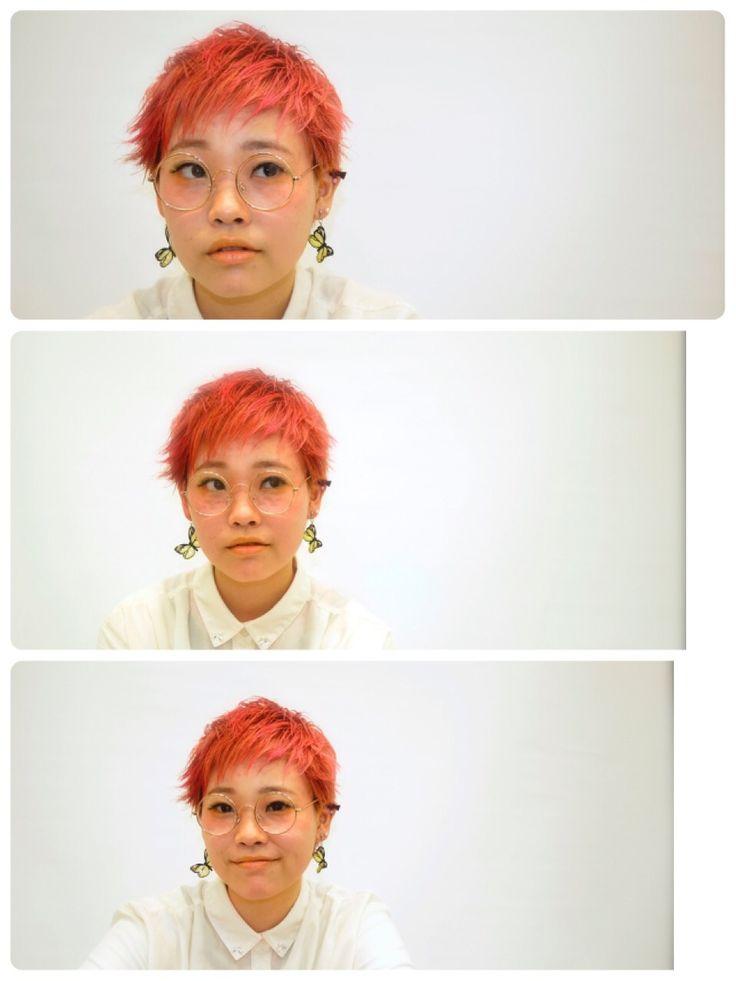 サーモンピンク♡カラー♡