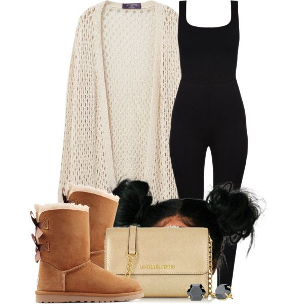 A fashion look from May 2016 featuring Violeta by Mango cardigans, UGG Australia boots and Michael Kors shoulder bags. Browse and shop related looks.
