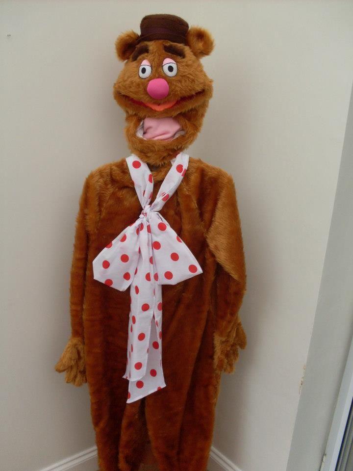 Fozzie bear costume