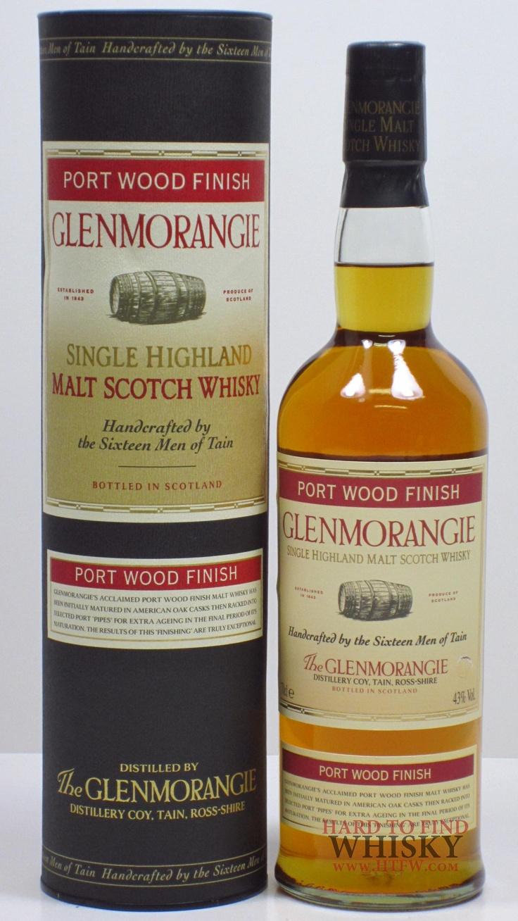 Glenmorangie Port Wood Finish - Single malt, Highland, invecchiato l'ultimo periodo in botti di Porto, da cui prede aromi fruttati (provato, ne ho acquistata una bottiglia perché curioso di testare l'invecchiamento in Porto, l'ho trovato davvero soddisfacente, anche all'olfatto il sentore di vino é ottimo)