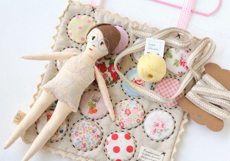 Miss Marmalade - A Tiny Doll