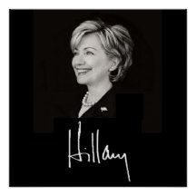 Hillary Rodman Clinton Secretray of State, First Lady, Senator New York, President Barack Obama candidate 2008 2012 Democrat Republican Independent Boulder Women POSTER Print