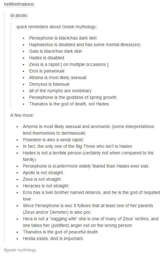 Iiiinteresting. Facts about gods