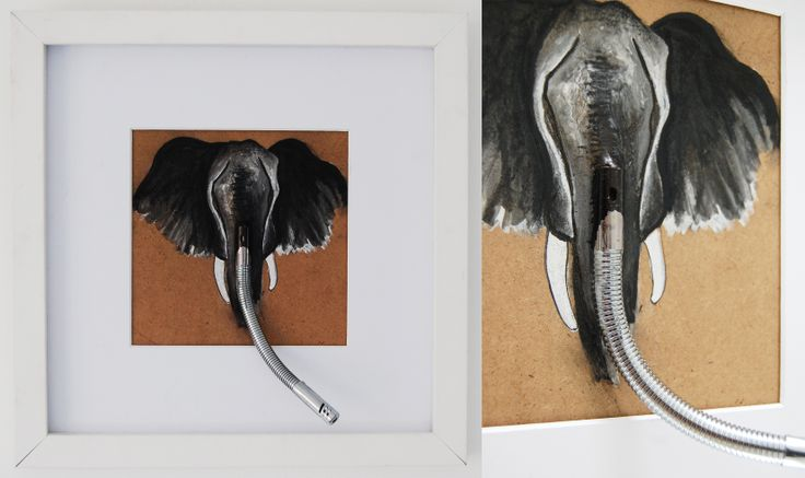 Made by Willemien Mensing Elephant/olifant